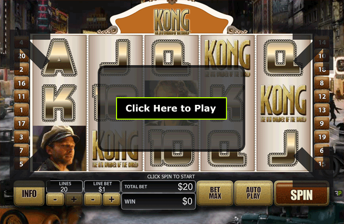 Play Kong The Eighth Wonder Of The World Online Pokies at Casino.com Australia
