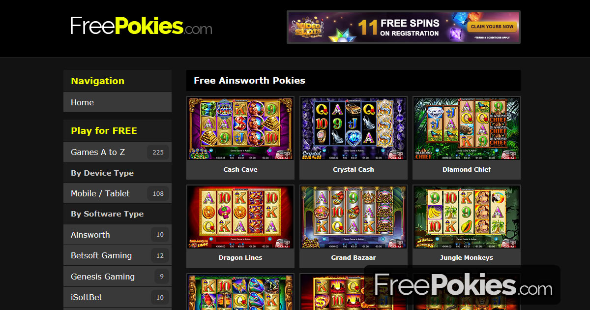 Free Online Pokies Au