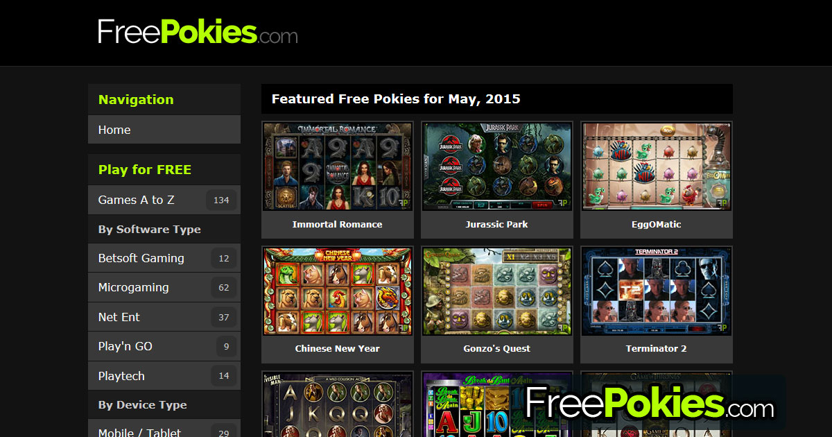Pokies freeware european green paper internet gambling