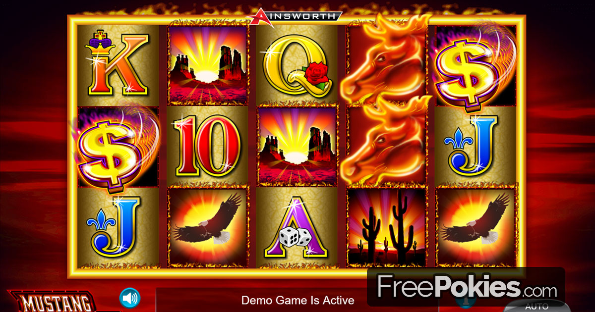 Mustang Money™ Slot Machine Game to Play Free in Ainsworth Game Technologys Online Casinos