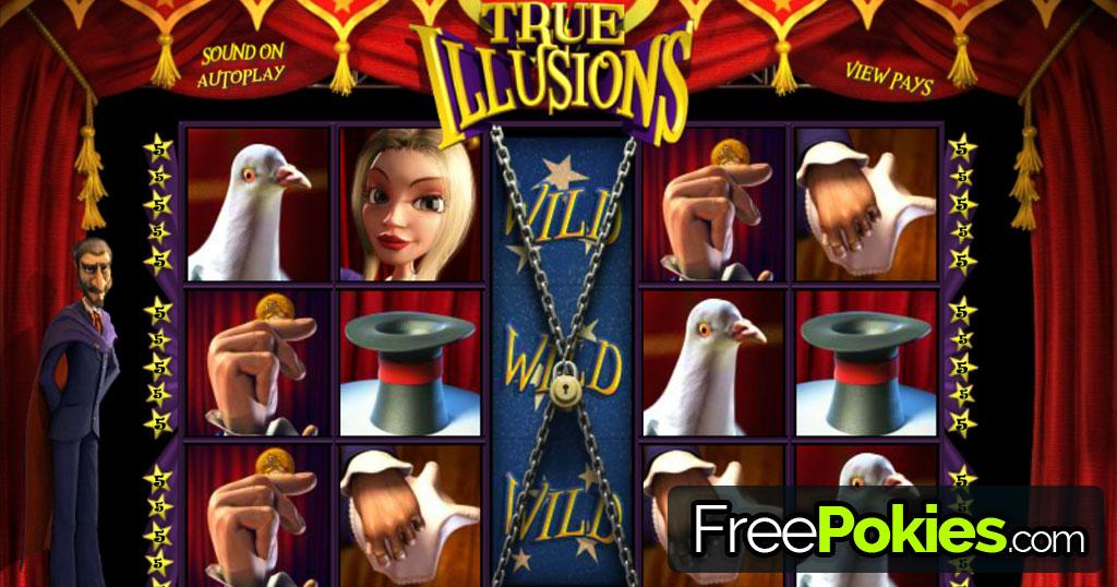 True Illusions Online Pokie